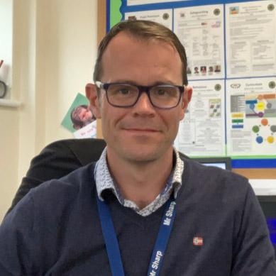 Andrew Sharp Headteacher, Pear Tree Primary School